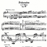 Ludwig van Beethoven Polonaise in C major, Op.89
