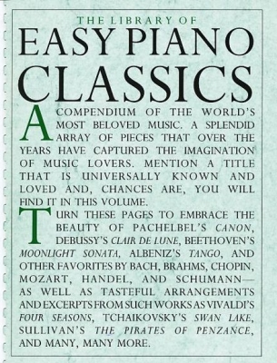 The Library of Easy Piano Classics, Vol. 1