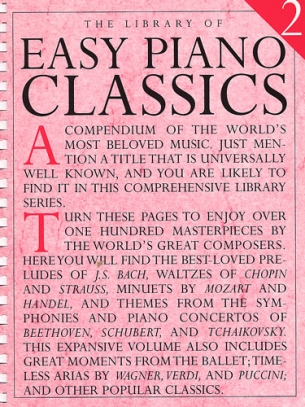 The Library of Easy Piano Classics, Vol. 2