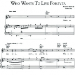 Who Wants To Live Forever – Queen