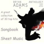 """Bryan Adams """"Anthology"""" Sheet Music"""