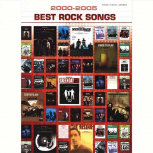 Best Rock Songs 2000-2005 sheet music for piano and voice with guitar chords