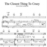 The Closest Thing To Crazy by Mike Batt