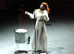 Florence & The Machine - Blinding (live in Rome 22-07-2010)