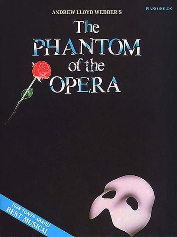 Andrew Lloyd Webber The Phantom of the Opera Piano Solos