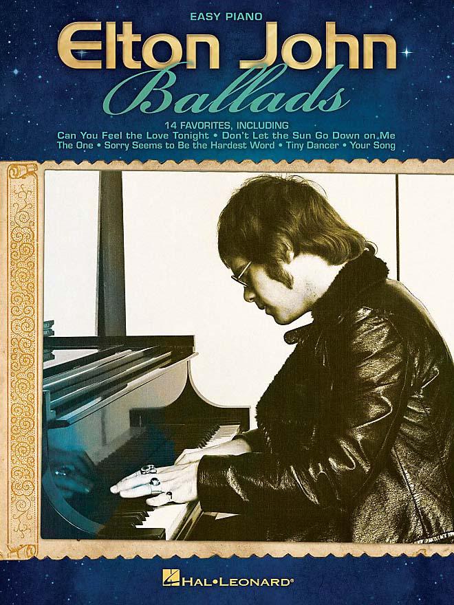 Elton John Ballads Easy Piano