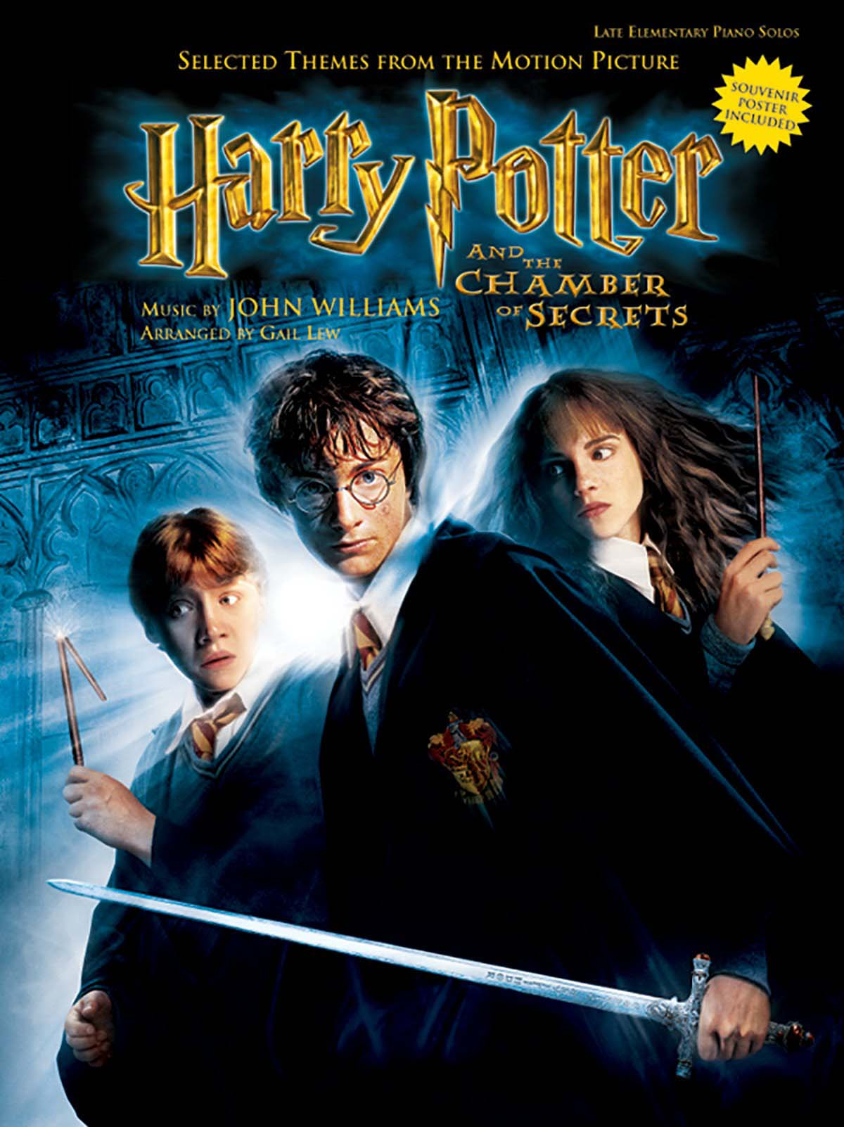 «Harry Potter and the Chamber of Secrets» Sheet Music, 38 pages, PDF