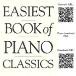 Easiest Book of Piano Classics Sheet Music